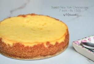 Classic Baked New York Cheesecake
